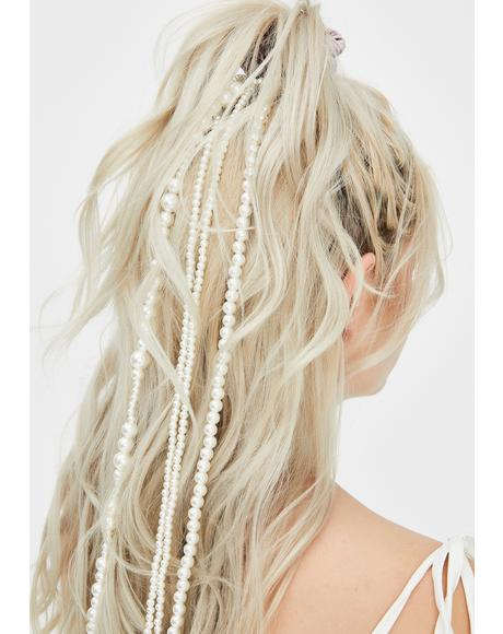 Sultry Siren Pearl Hair Beads