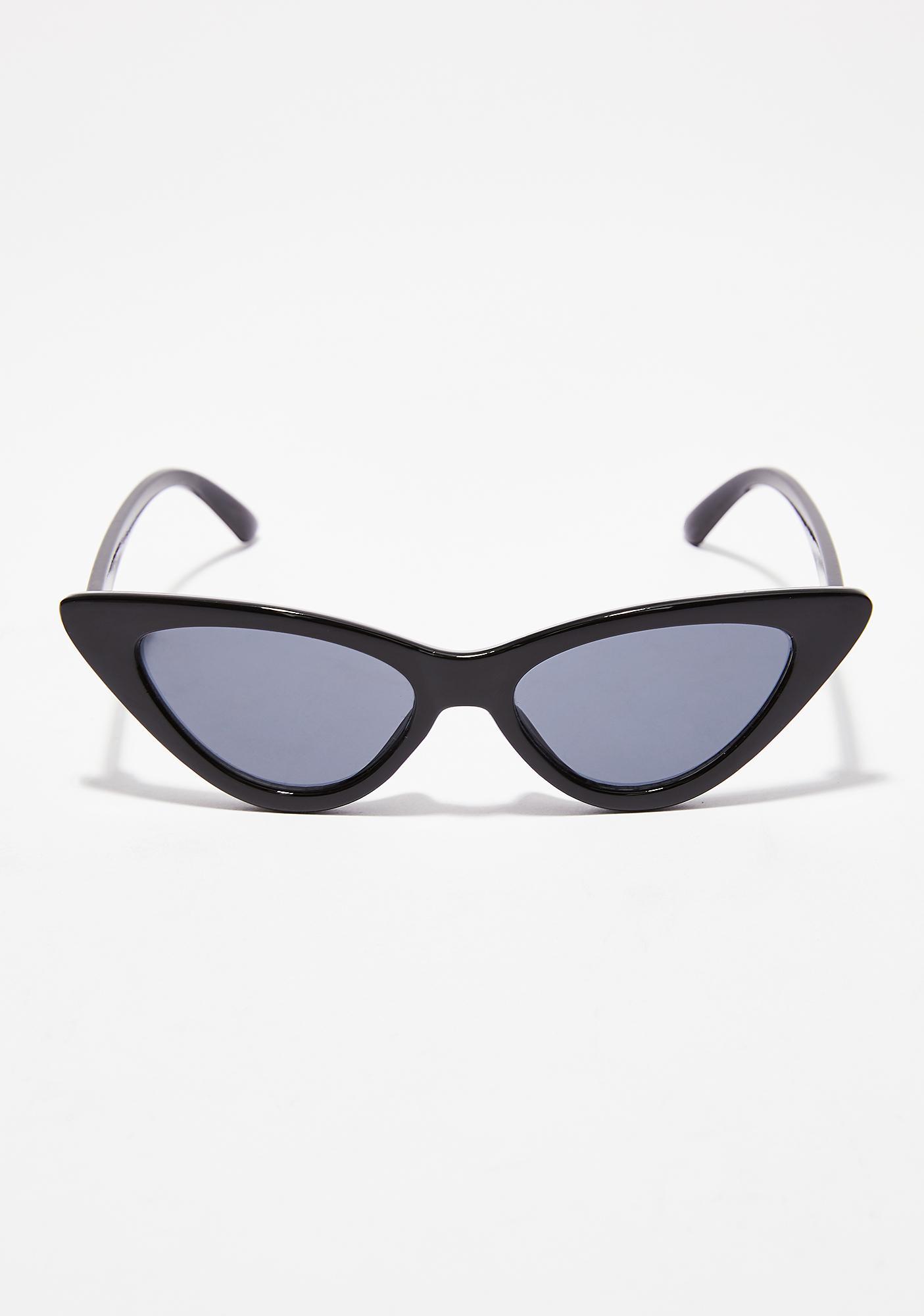 Dark Vibin' On Ya Sunglasses