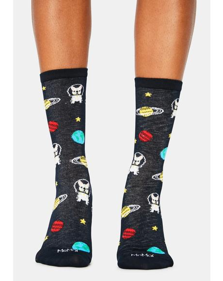 In Space Crew Socks