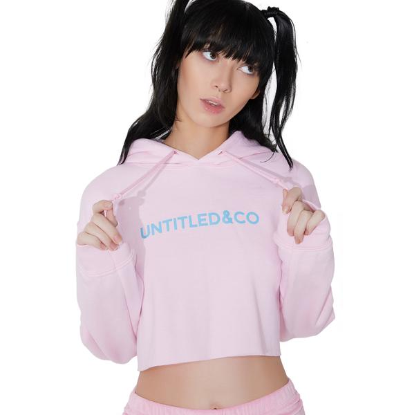 Untitled & Co Southbeach Crop Hoodie