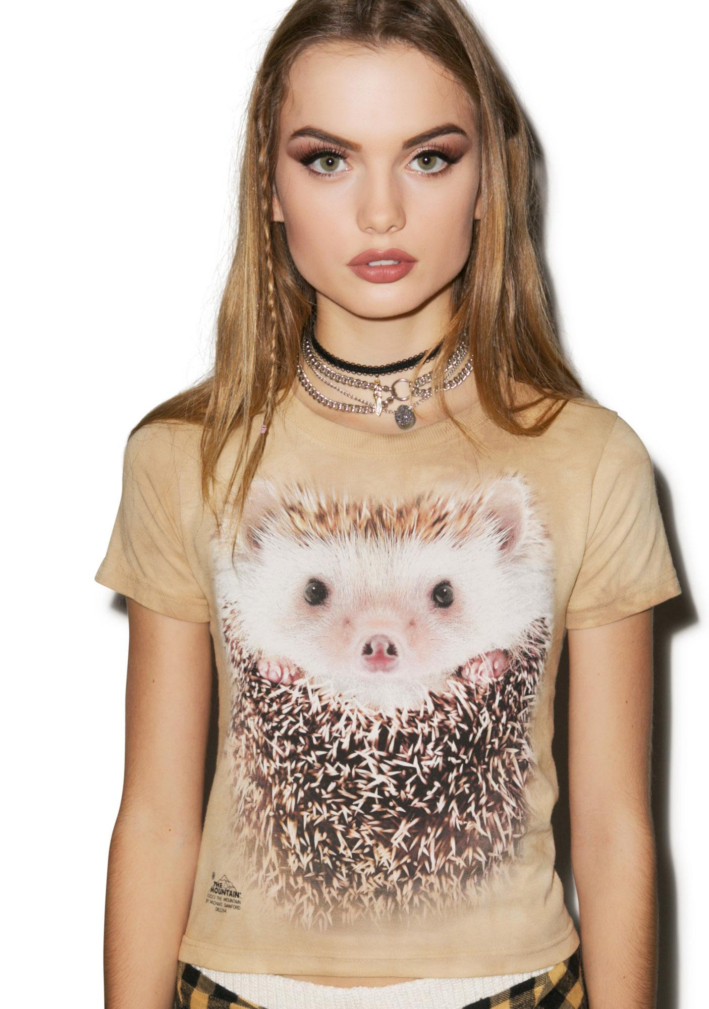 Big Face Hedgehog Tee