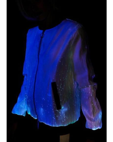Playa Playerz Club Fiber Optic Jacket