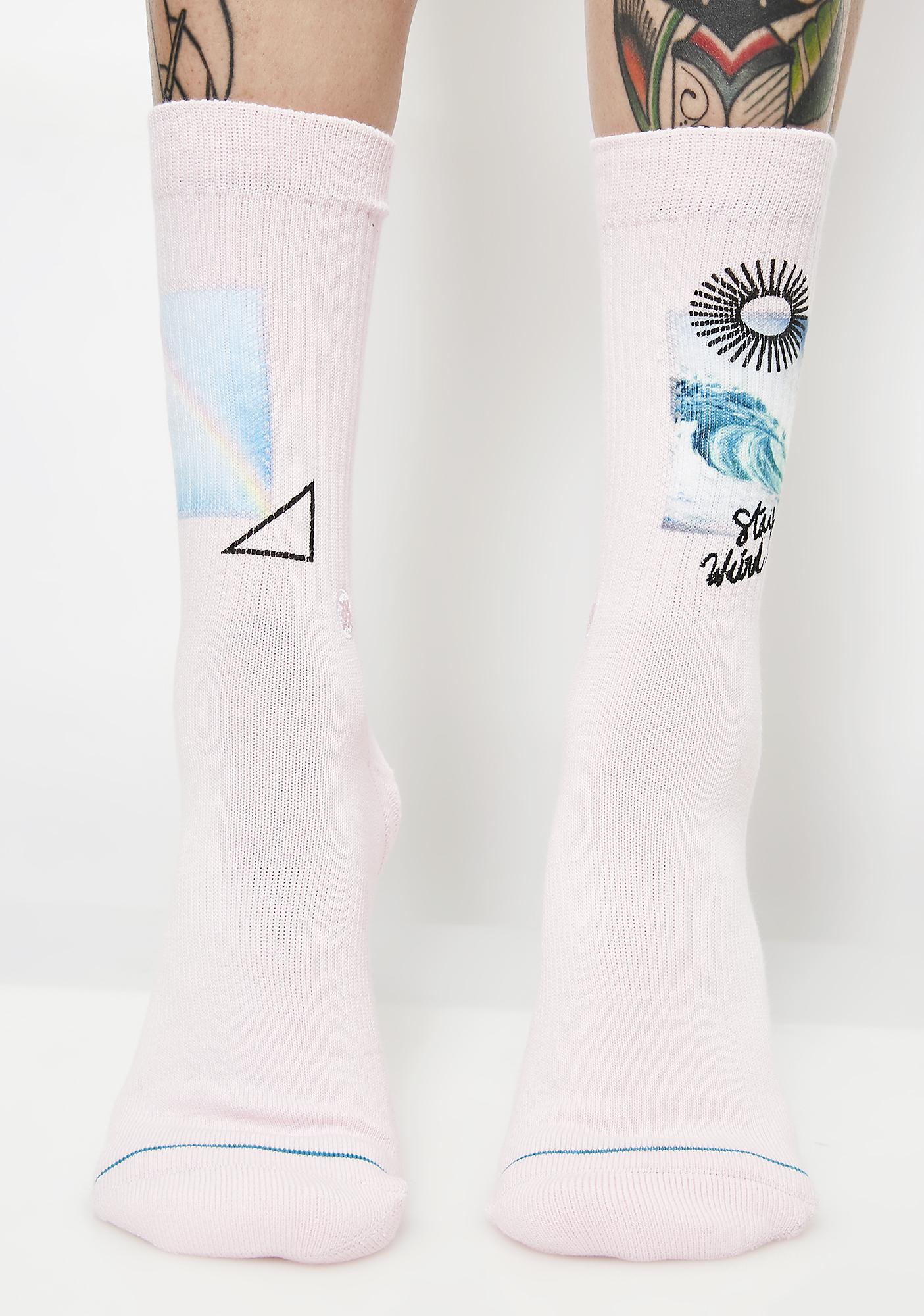 Stance Stay Weird Crew Socks