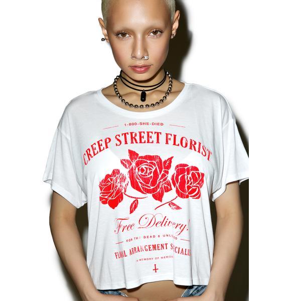 Creep Street Creepy Florist Boxy Tee