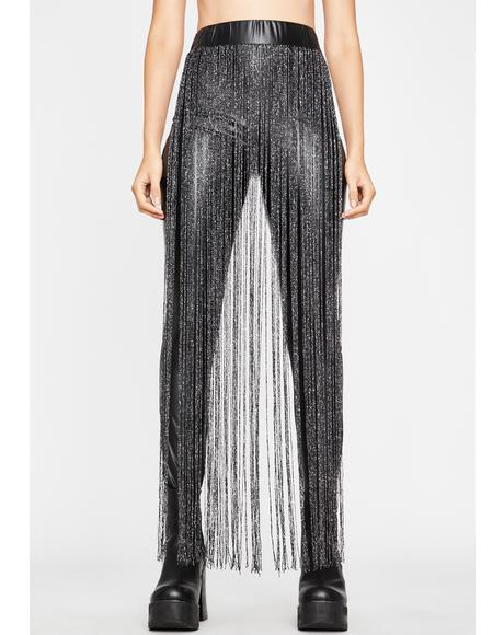 Backstage Drama Fringe Leggings