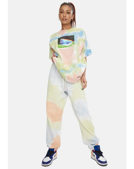 Sustainable Tie Dye Sweatpants