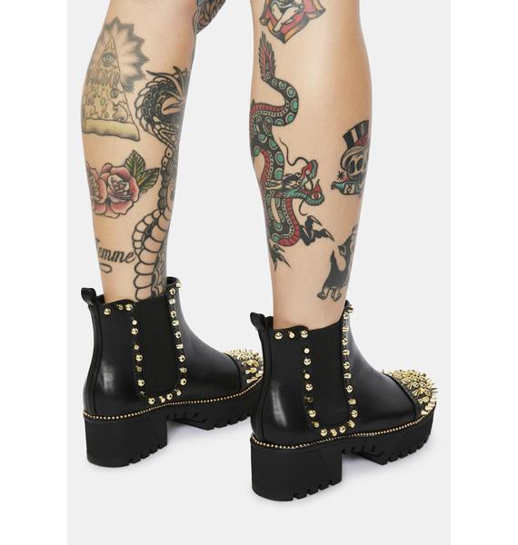 Spike Hellbender Chelsea Boots
