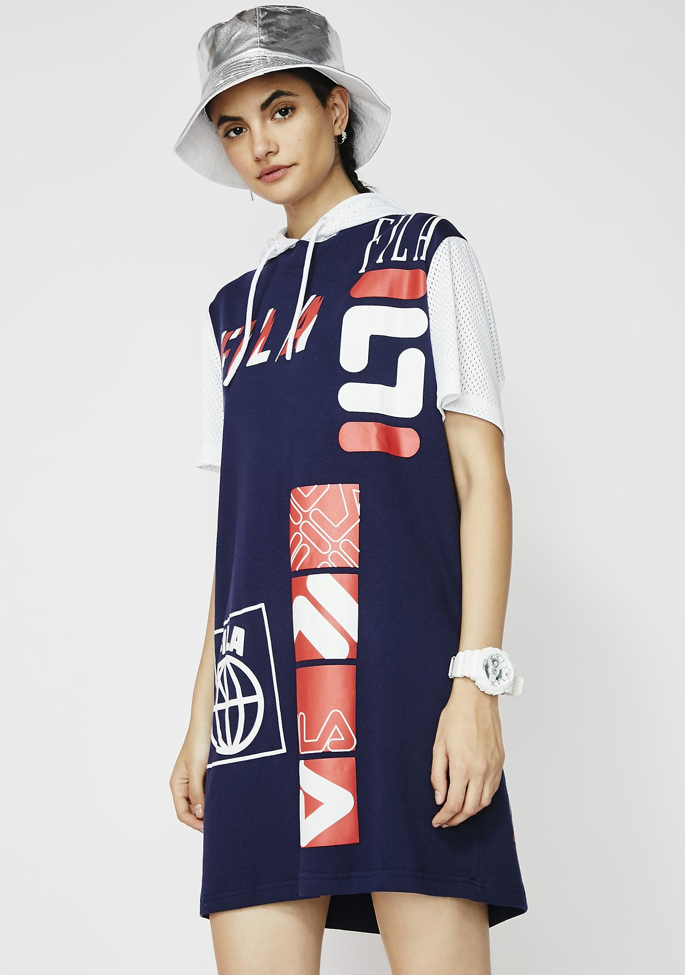 Fila Tia Hooded Dress