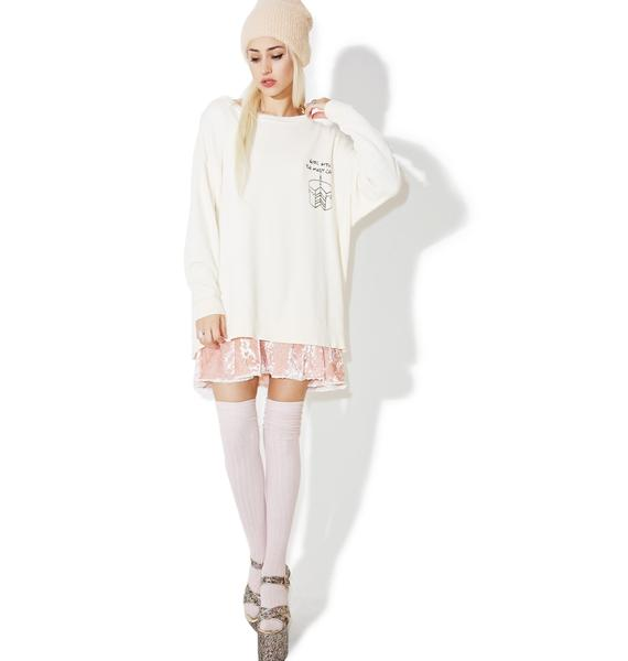 Wildfox Couture Most Cake Roadtrip Sweater