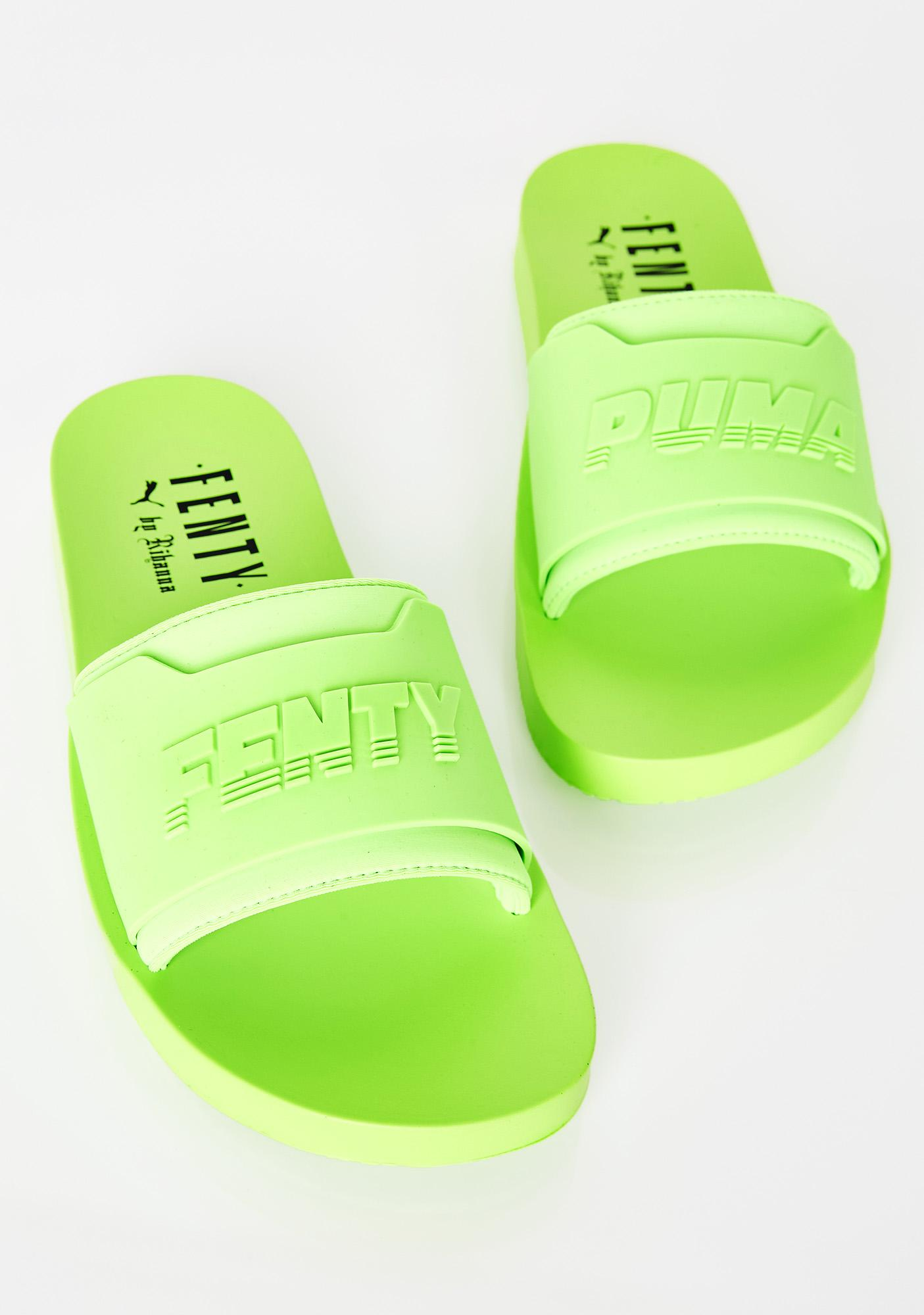 low priced 2af0e 0b74b FENTY PUMA By Rihanna Gecko Surf Slides