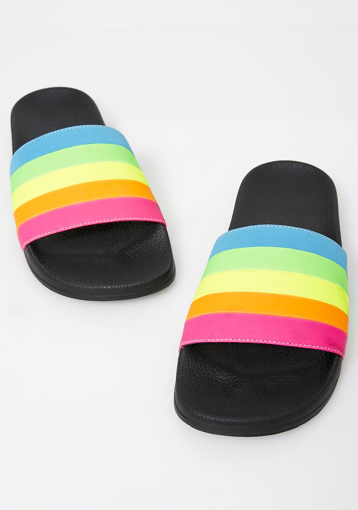 Current Mood Technicolor Tripster Slides