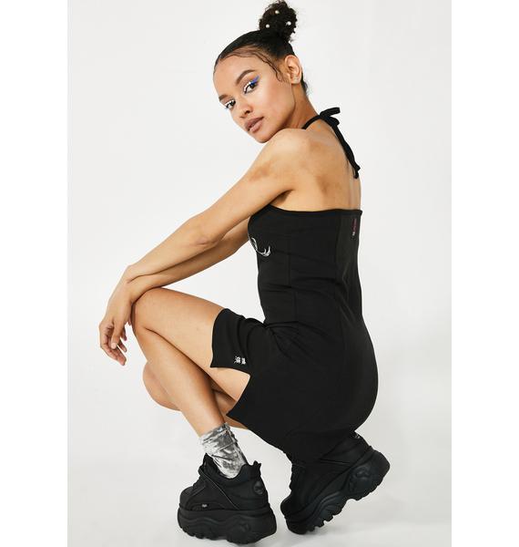 GANGYOUNG Black Miyao Dress