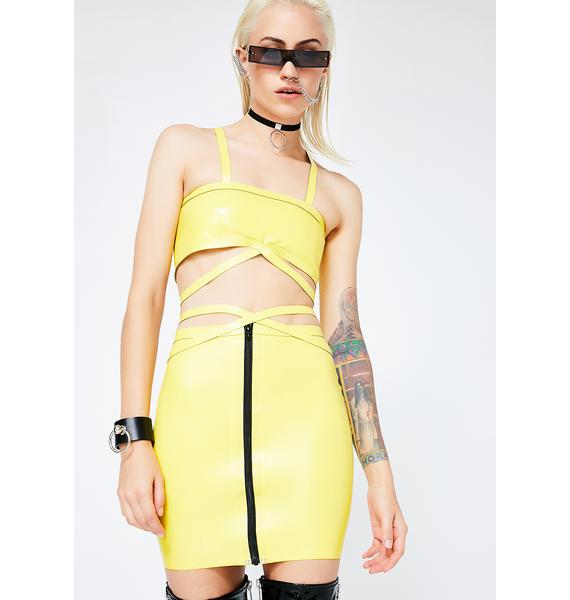 Meat Clothing Virus Skirt