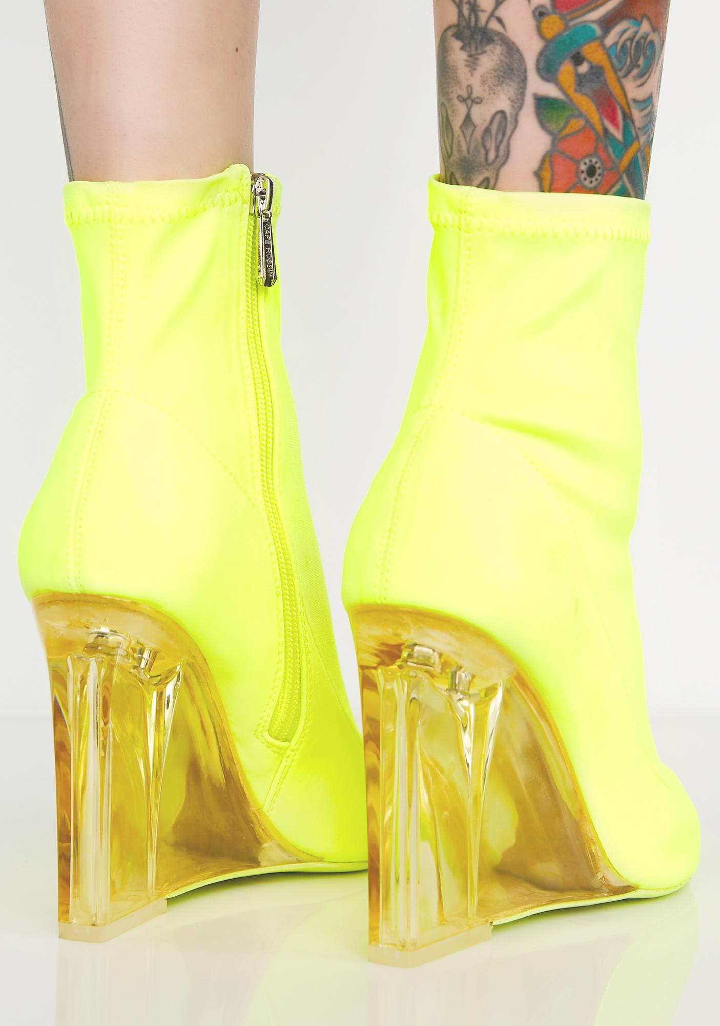 Seein Clearly Wedge Bootie clearance fashionable 8lSAlICDY