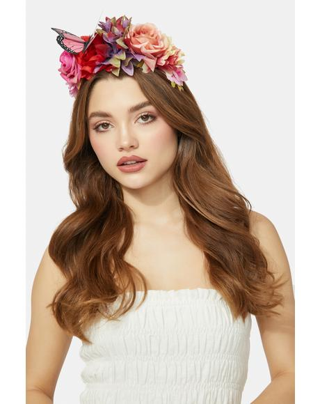 Garden Magic Flower Headband
