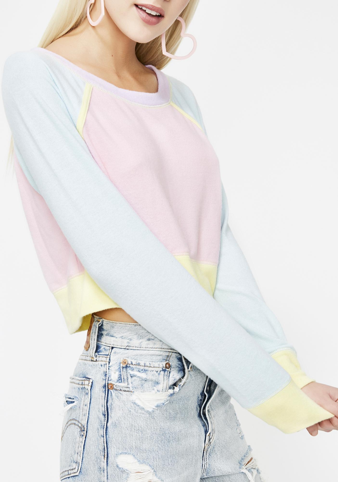 Womens Ladies Anti Social Lips Fleece Cut Out Long Sleeve Baggy Sweatshirt Top