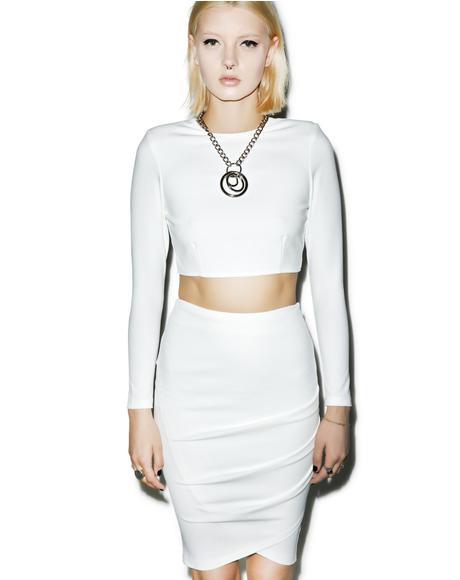 Good Girl Midi Skirt
