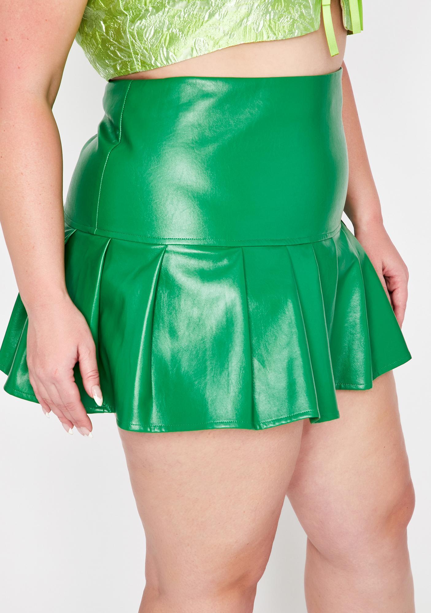 Ganja True Dreamer District Pleated Skirt