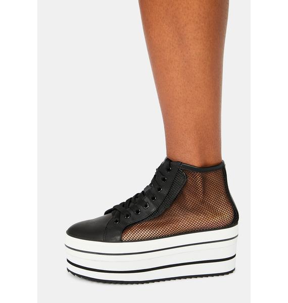Y.R.U. Elevation Mesh Platform Sneakers