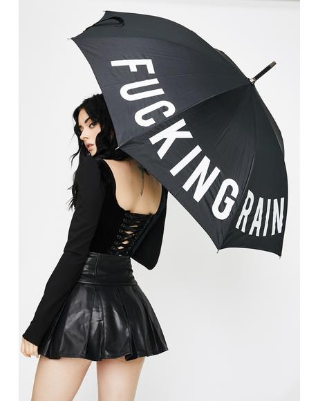 Fucking Rain Umbrella