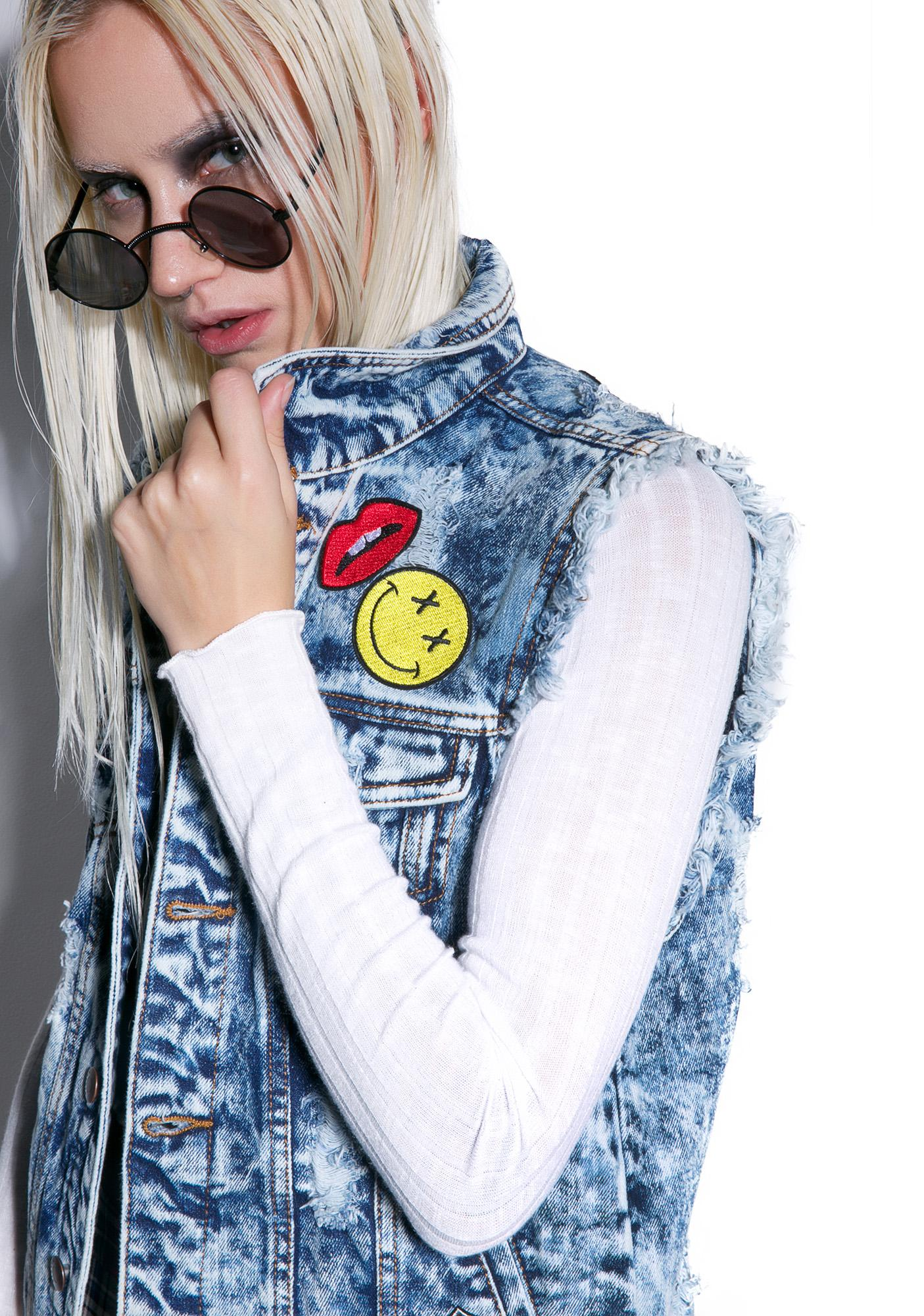 Freaks N Geeks Denim Vest