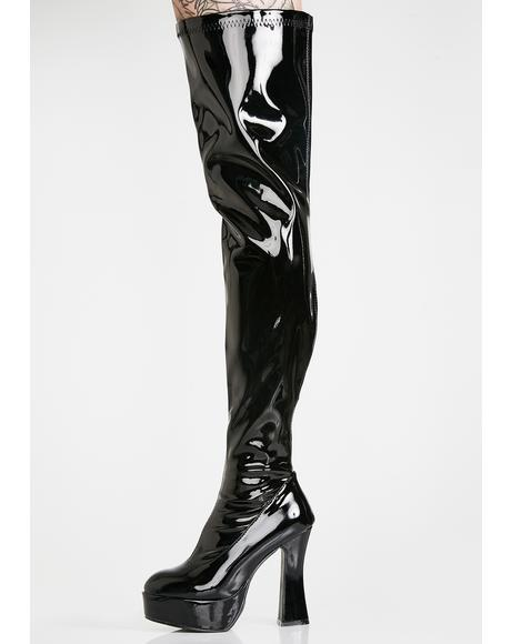Wicked Desire Platform Boots