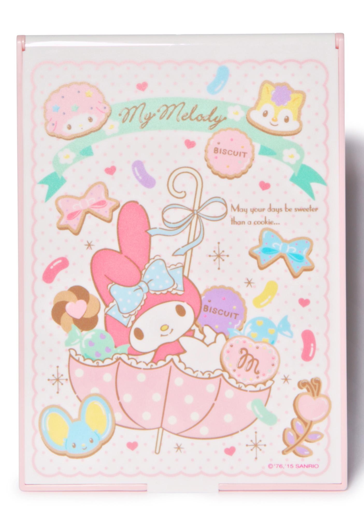 Sanrio My Melody Cookie Folding Mirror