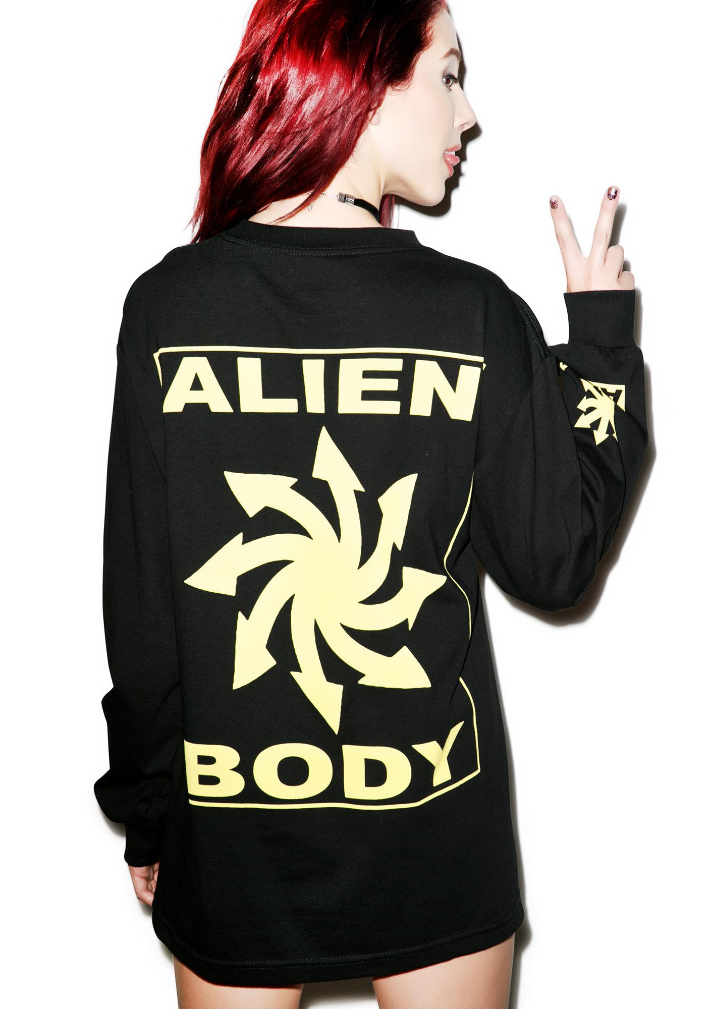 Mishka Alien Body Chaos Realm Shirt