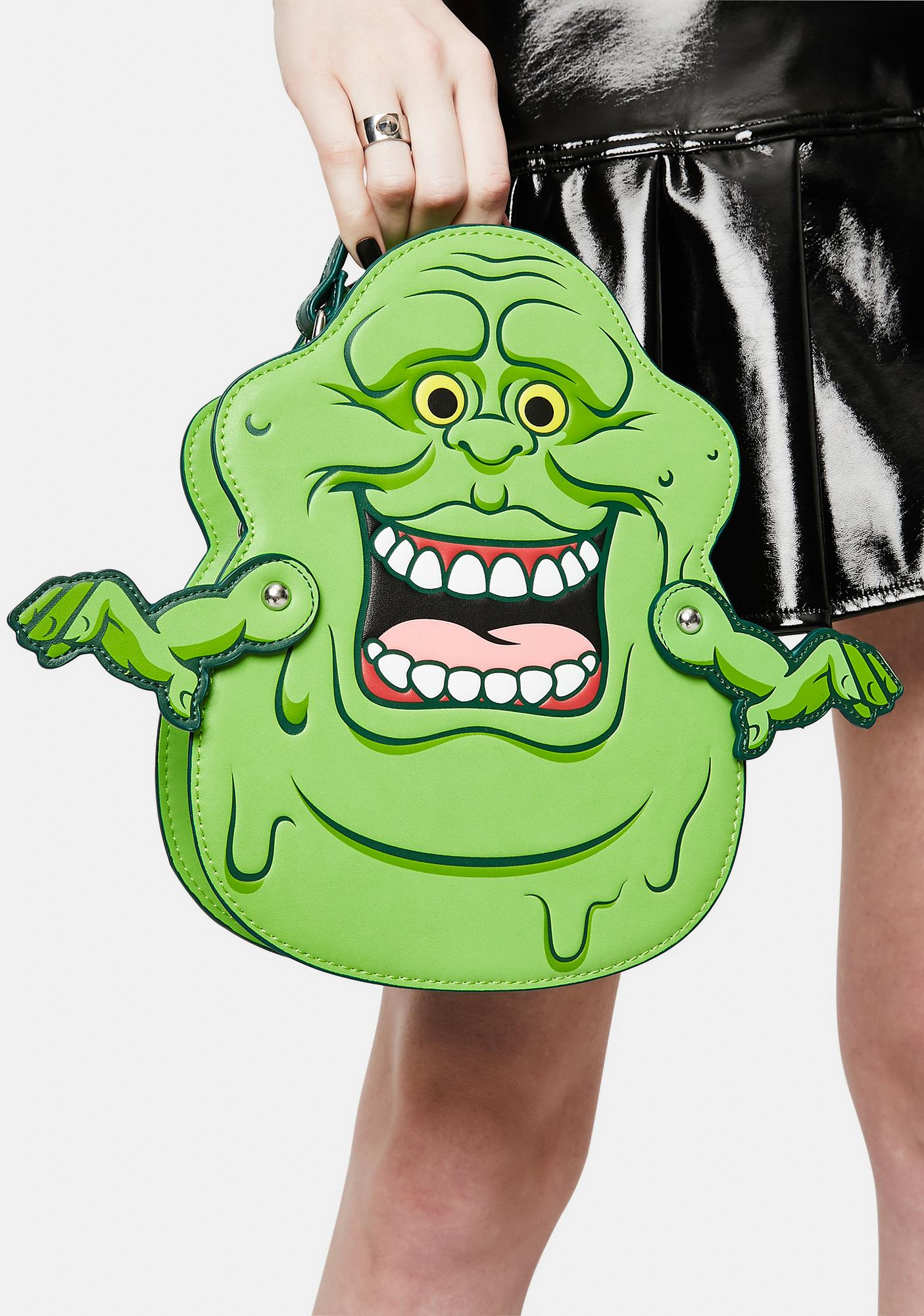 Loungefly Ghostbuster Slimer Convertible Backpack