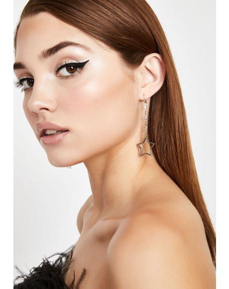 Drop Some Magic Star Earrings