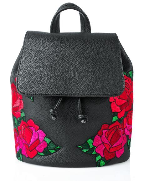 Embroidered Cressida Backpack