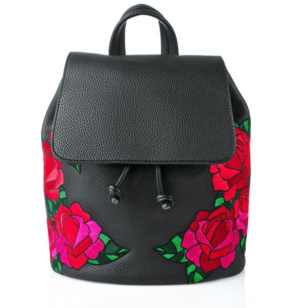 Skinnydip Embroidered Cressida Backpack