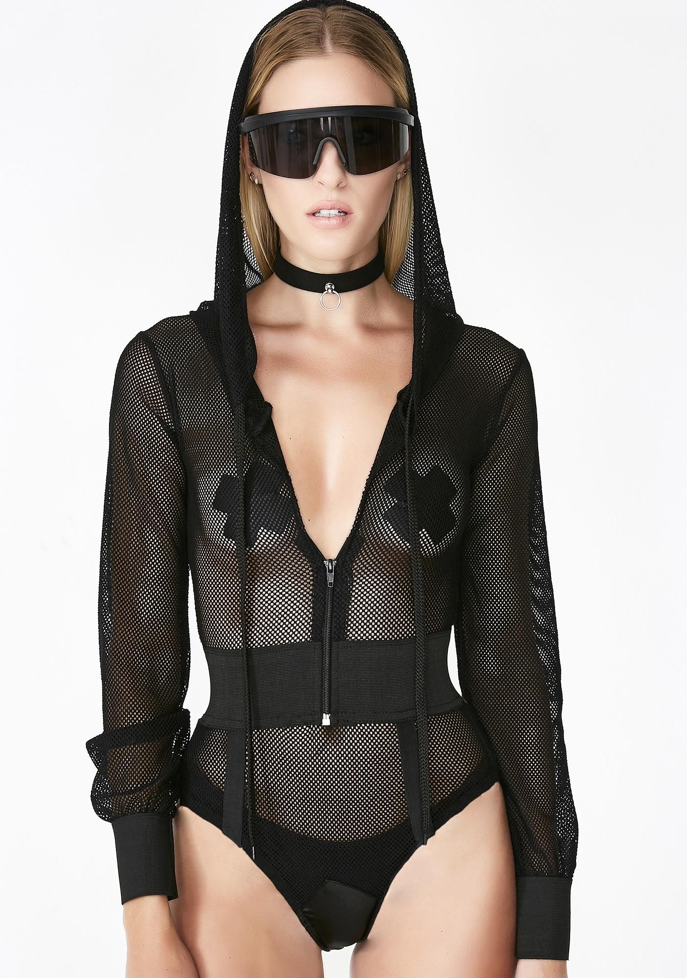 Dangerous Woman Fishnet Bodysuit
