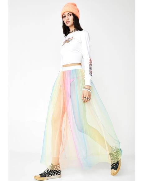 Ice Cream Cake Tulle Skirt