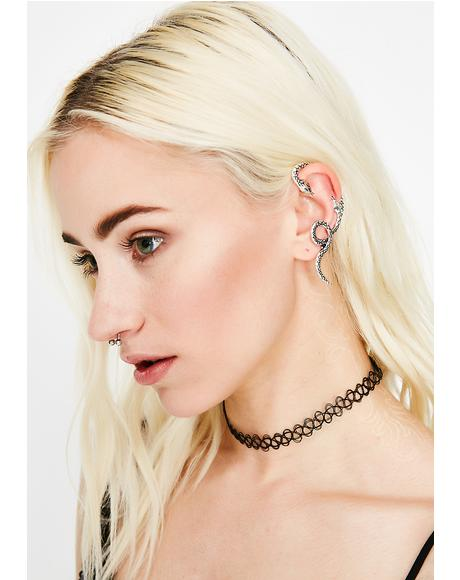 Vicious Venom Ear Cuff