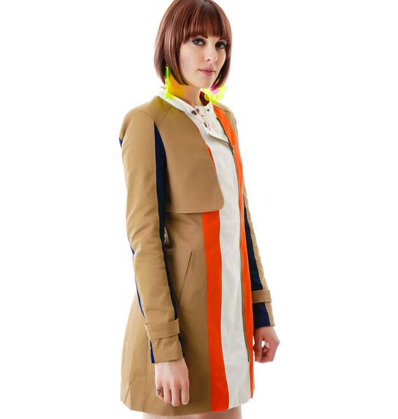 New Color on the Block Long Jacket