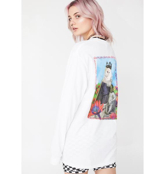 RIPNDIP Fouquet Madonna Long Sleeve Tee