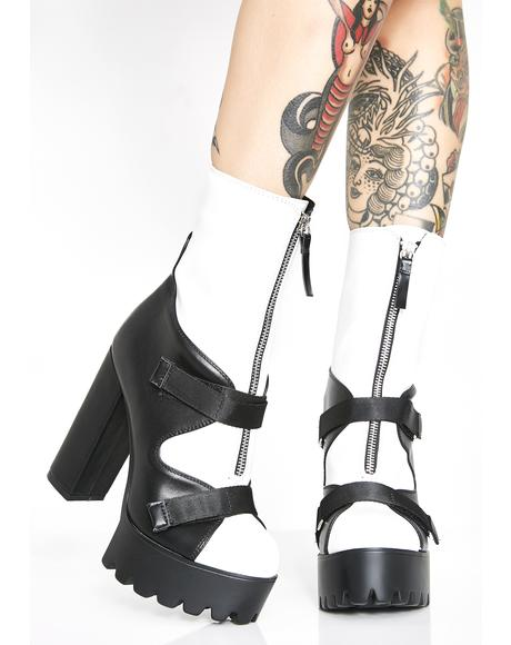 Don't Call Me Doll Ankle Boots