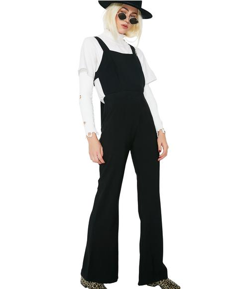 Open Road Tie-Back Jumpsuit