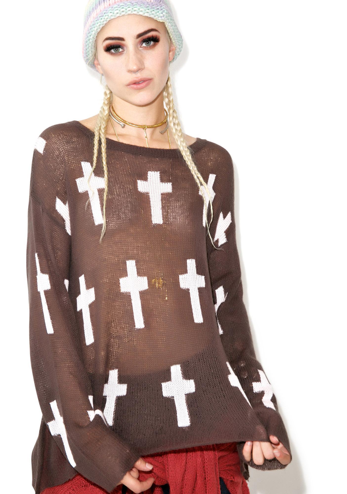 Wildfox Couture Judgement Roadie Sweater