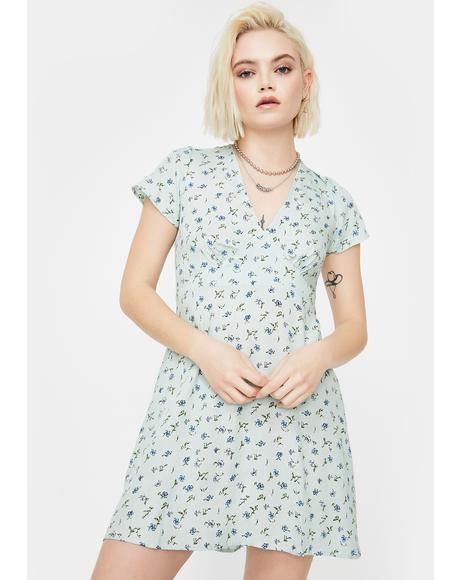 Pretty Petal Elara Mini Dress