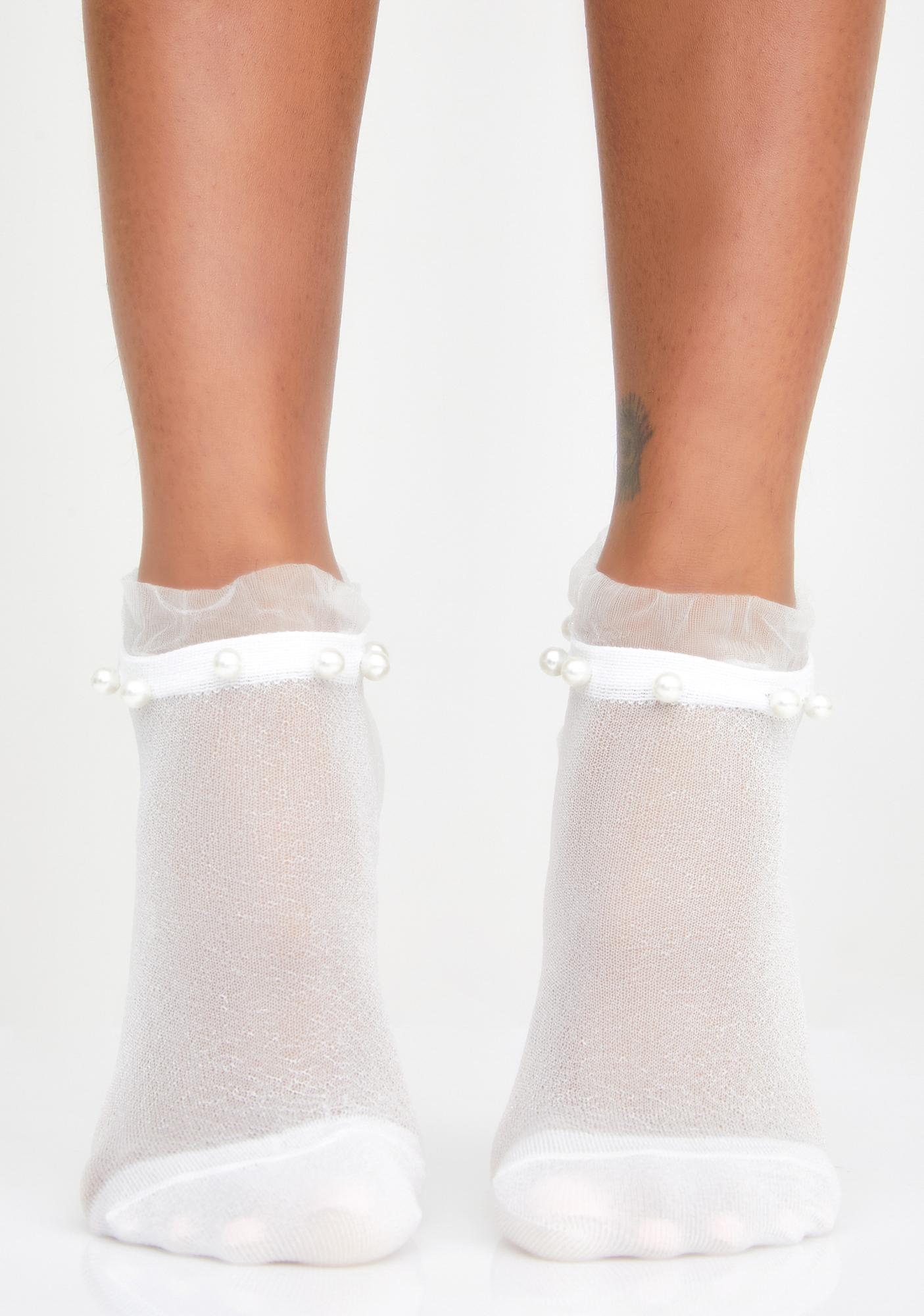Pearl Posse Sparkle Socks