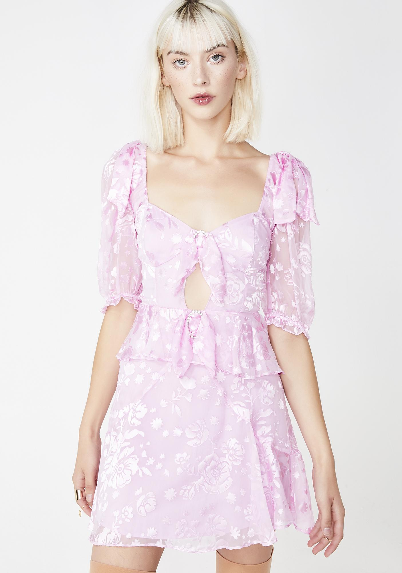 74fc75b2387d For Love & Lemons Cosmo Mini Dress | Dolls Kill