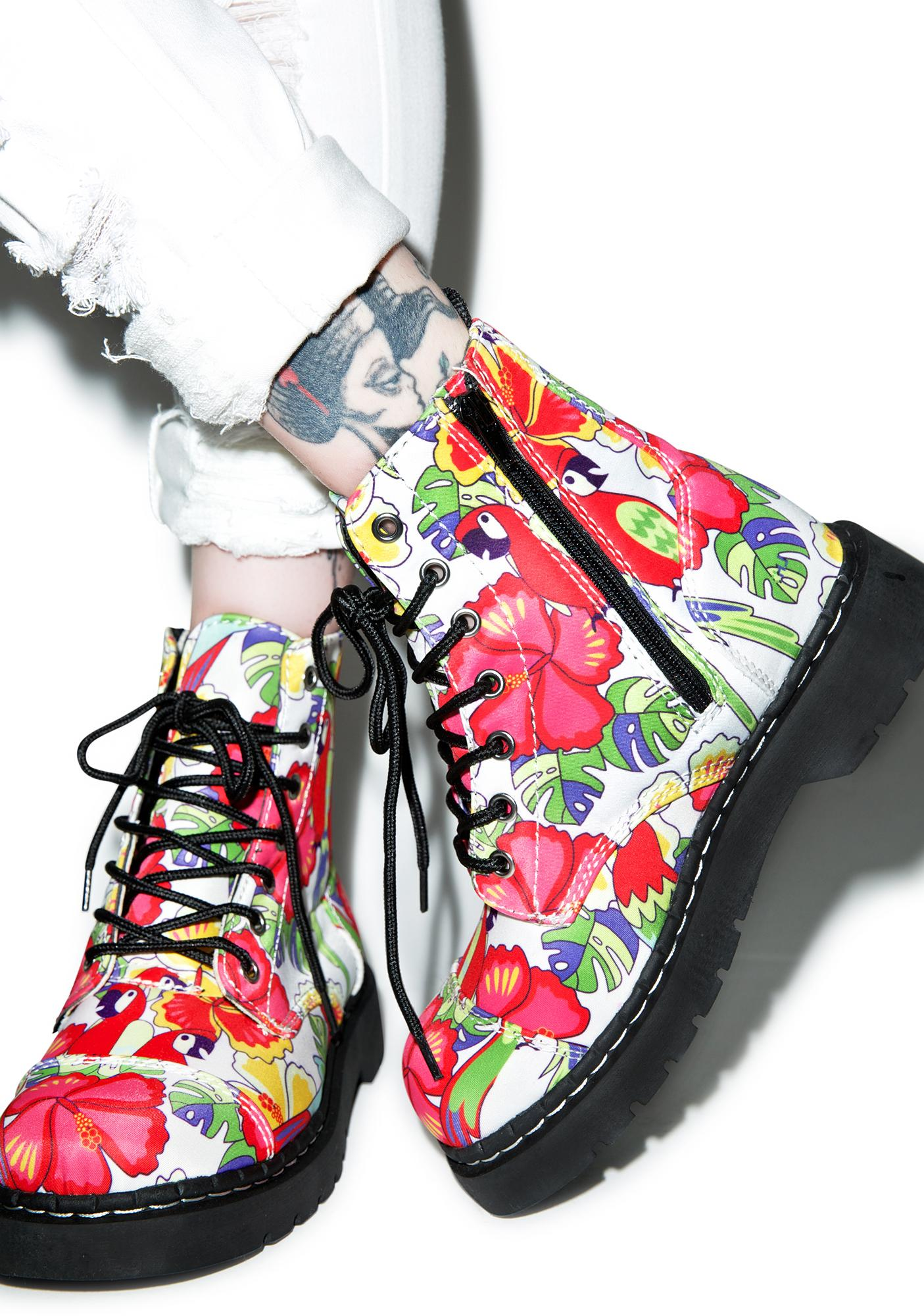 T.U.K. Tropical Parrot 7 Eye Boots