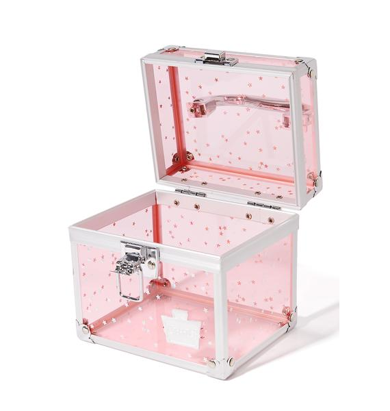 Caboodles Oh La La Clear Makeup Case