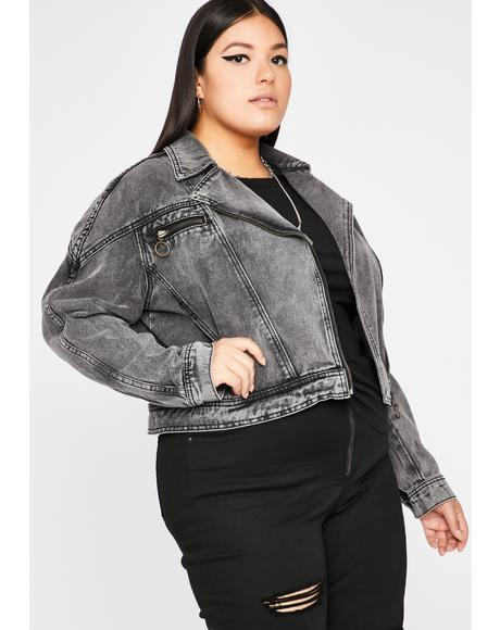 C'mon Let's Motor Denim Jacket