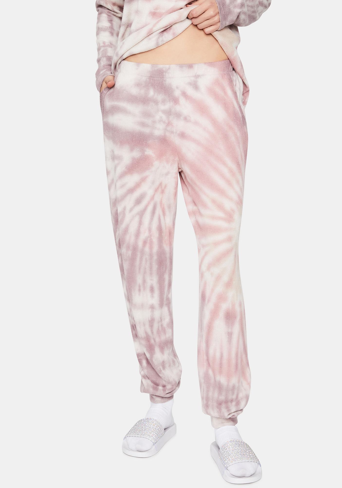 Violet Coast Cruisin' Tie Dye Joggers