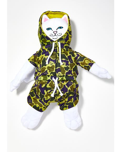 Nerm Camo Plush Doll