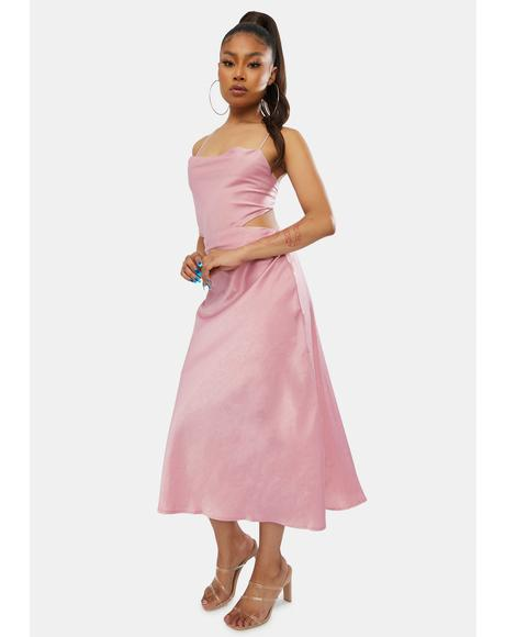 Darling Pushing It Midi Dress
