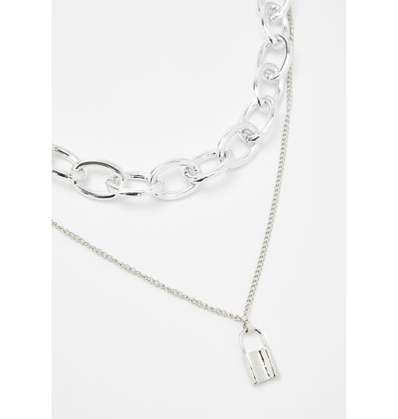 Rad Babe Alert Layered Necklace